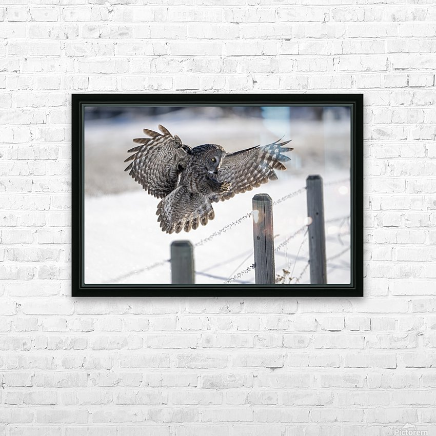Keep Your Eye On The Target HD Sublimation Metal print with Decorating Float Frame (BOX)