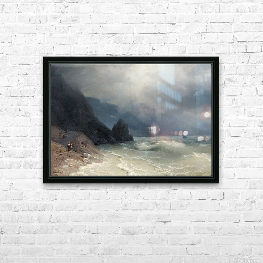 View of the sea HD Sublimation Metal print with Decorating Float Frame (BOX)