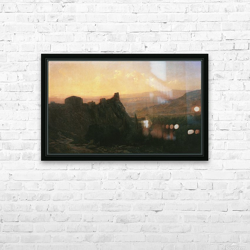 View of Tiflis HD Sublimation Metal print with Decorating Float Frame (BOX)