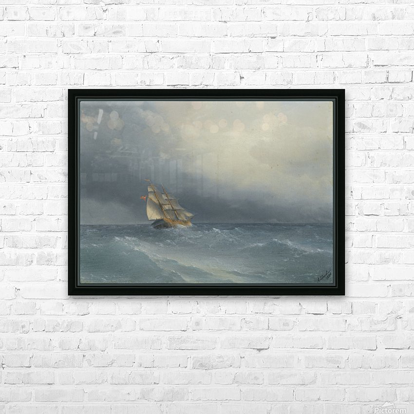 Out in the sea HD Sublimation Metal print with Decorating Float Frame (BOX)
