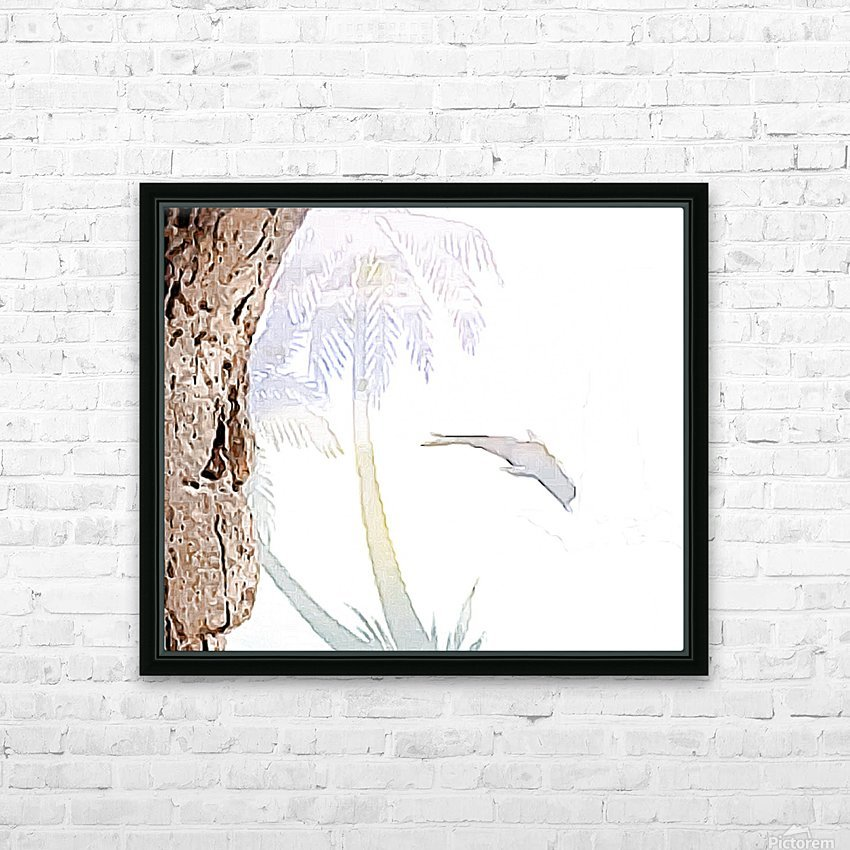 Beautiful encounters  HD Sublimation Metal print with Decorating Float Frame (BOX)