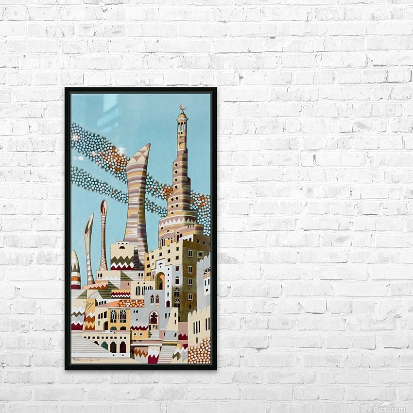 Doha HD Sublimation Metal print with Decorating Float Frame (BOX)