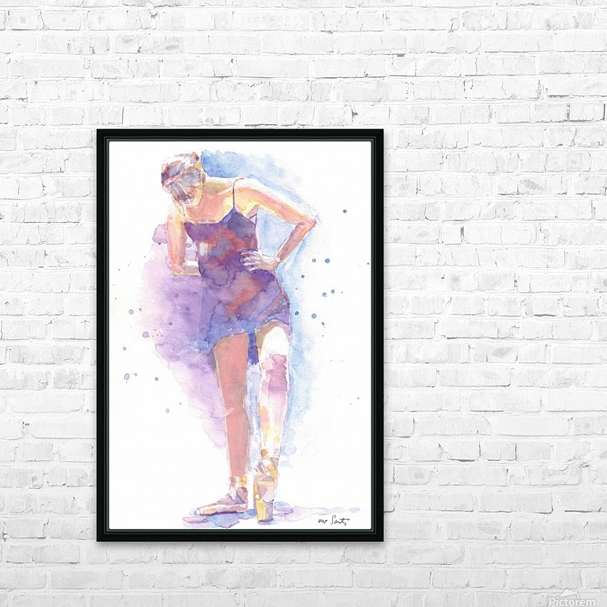 En Pointe HD Sublimation Metal print with Decorating Float Frame (BOX)