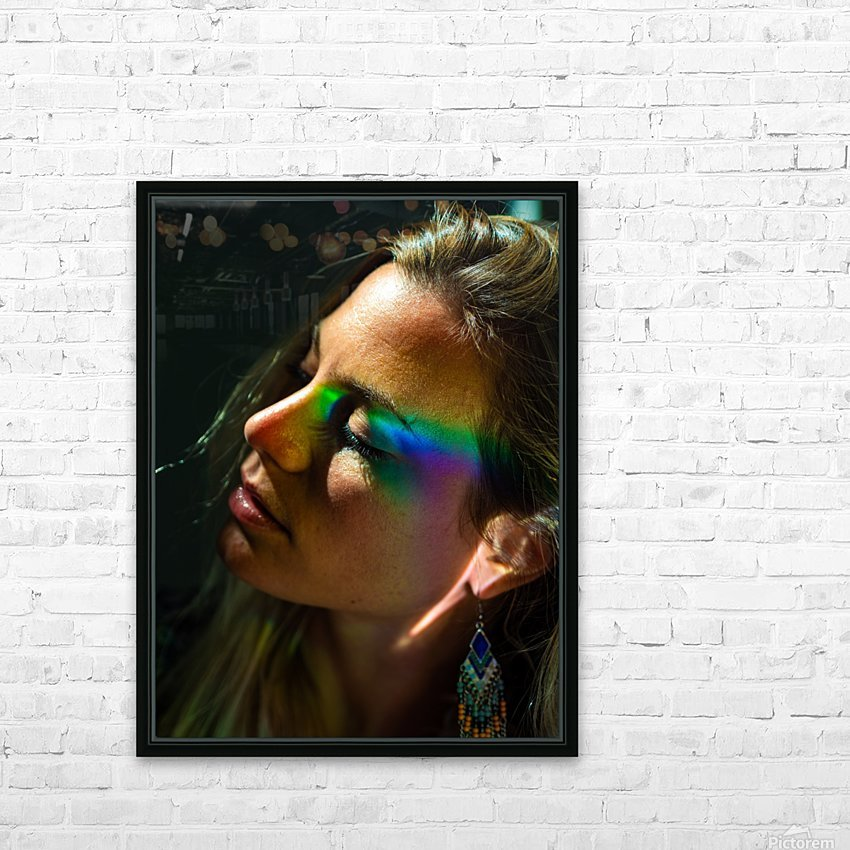 Rainbow Warrior HD Sublimation Metal print with Decorating Float Frame (BOX)