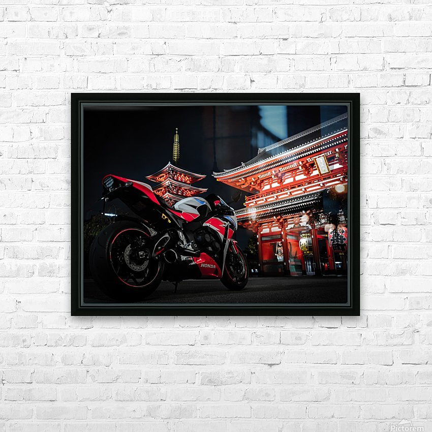 Honda At The Temple HD Sublimation Metal print with Decorating Float Frame (BOX)