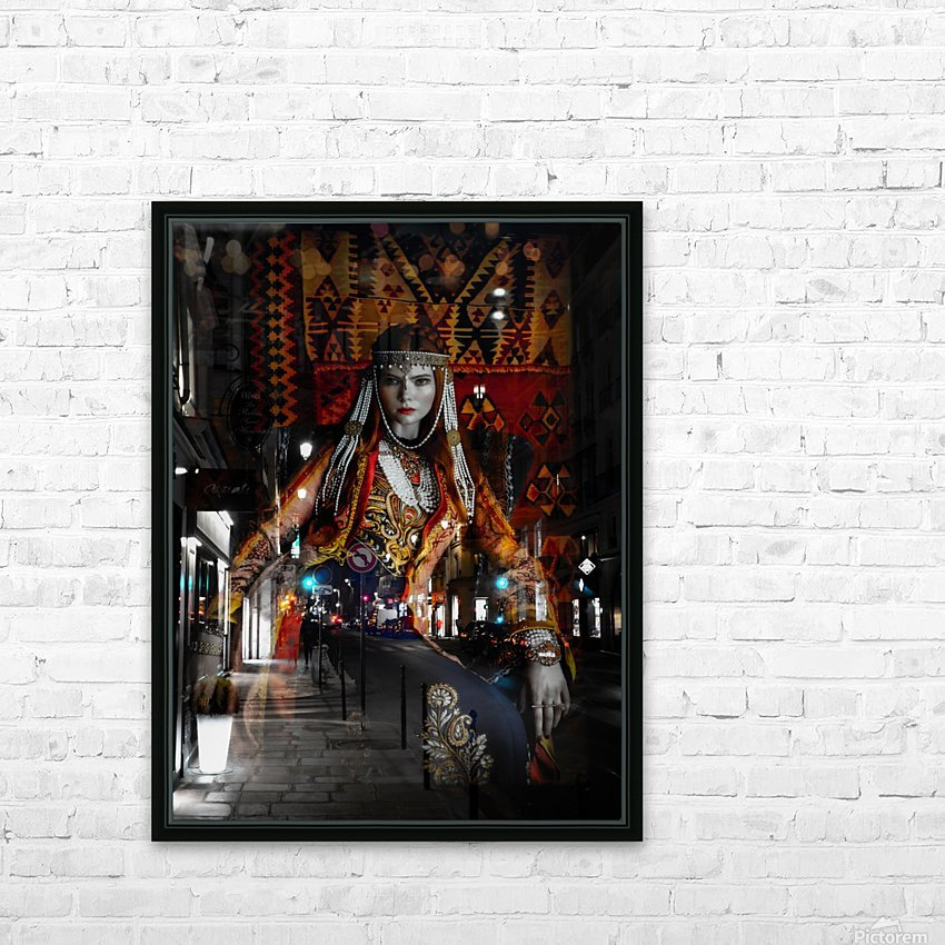 The Empress HD Sublimation Metal print with Decorating Float Frame (BOX)