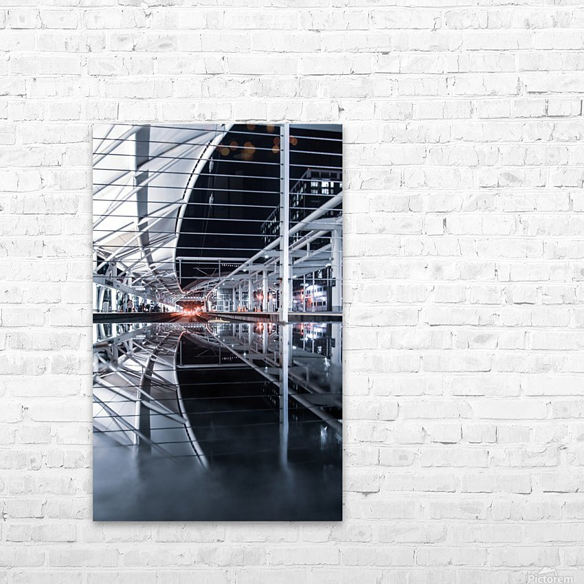 Union Station Reflection HD Sublimation Metal print with Decorating Float Frame (BOX)