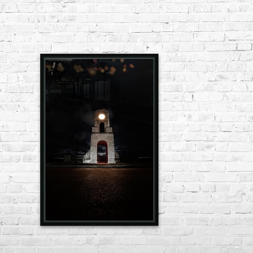 Worth Afterdark HD Sublimation Metal print with Decorating Float Frame (BOX)