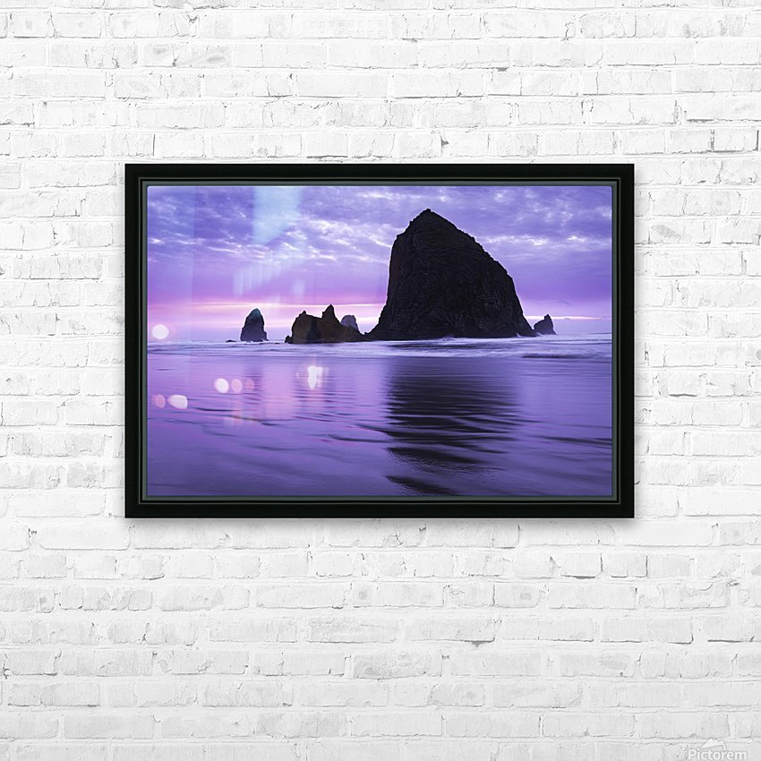 The 1 minute color gap HD Sublimation Metal print with Decorating Float Frame (BOX)