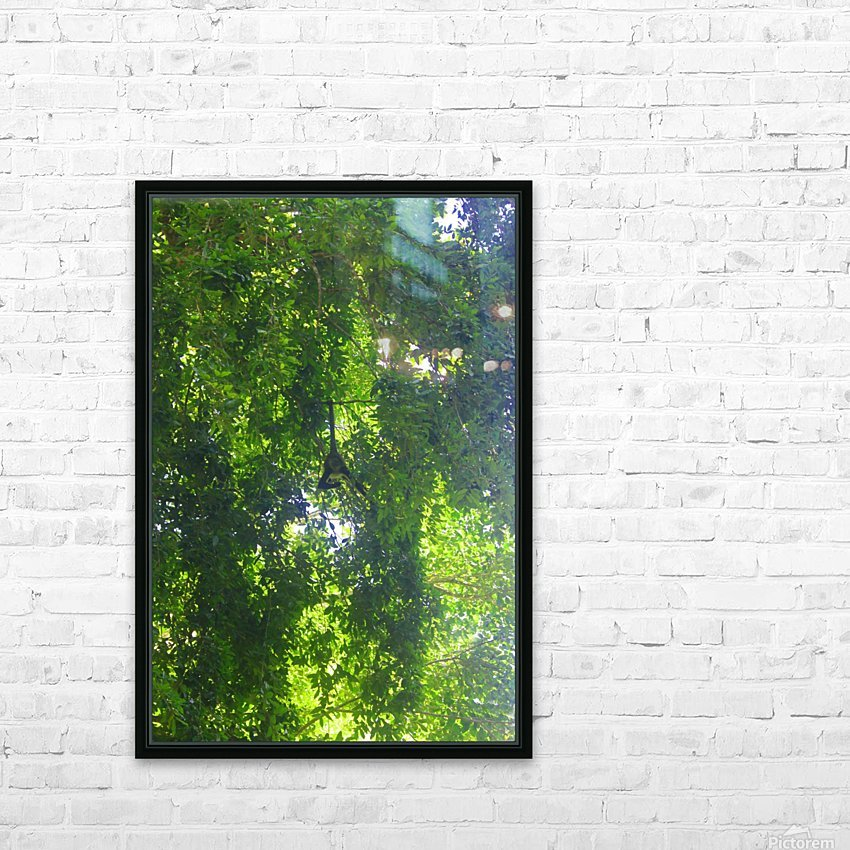 Just Hanging Around HD Sublimation Metal print with Decorating Float Frame (BOX)