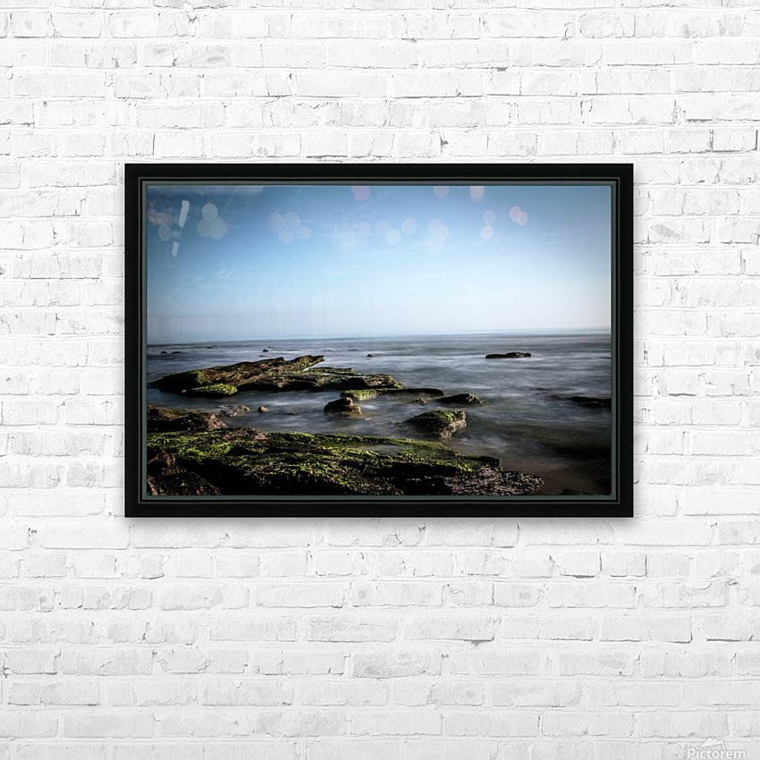 Turtle Island HD Sublimation Metal print with Decorating Float Frame (BOX)