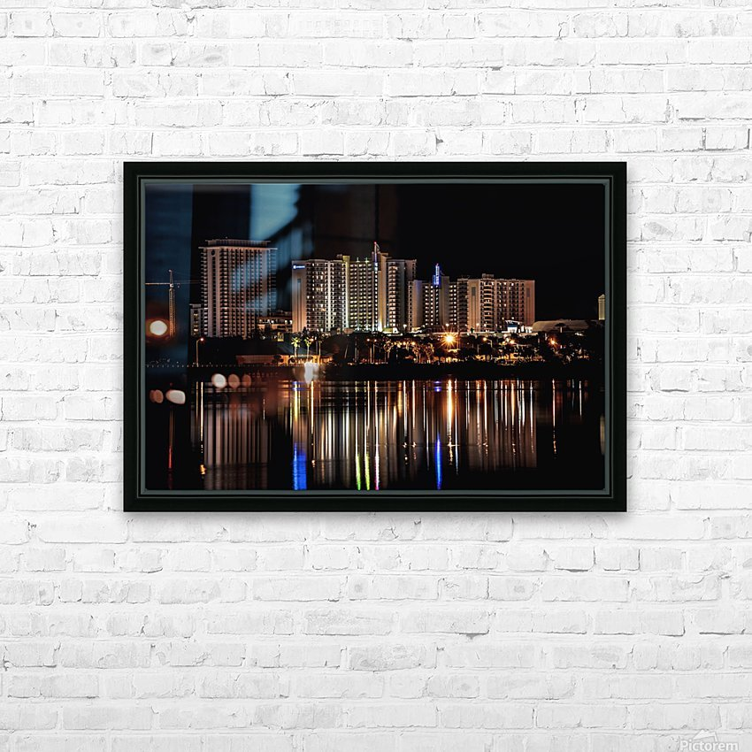 Costal Breezeways HD Sublimation Metal print with Decorating Float Frame (BOX)