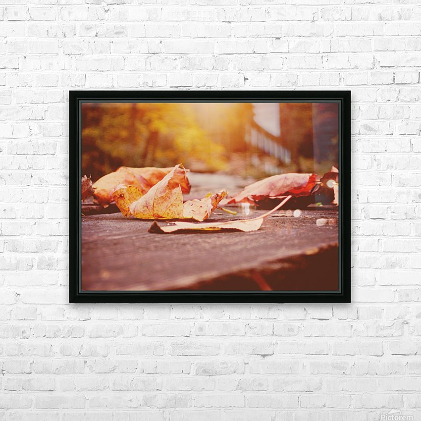 Fallen HD Sublimation Metal print with Decorating Float Frame (BOX)