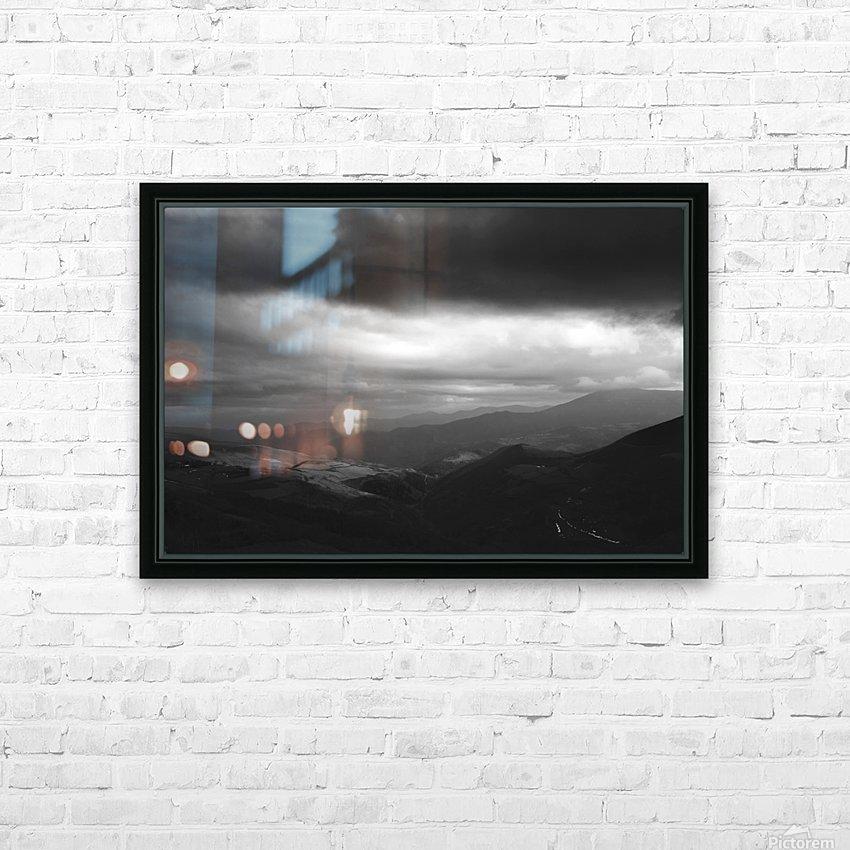 O Cebreiro HD Sublimation Metal print with Decorating Float Frame (BOX)