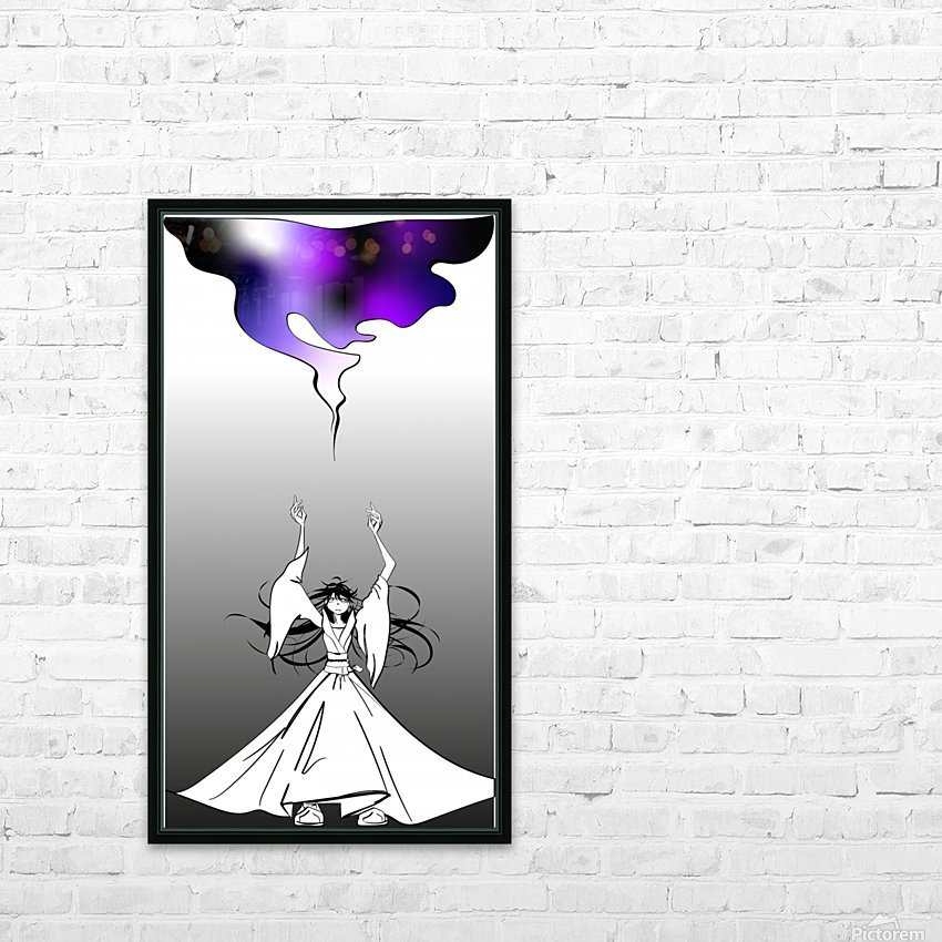 magic HD Sublimation Metal print with Decorating Float Frame (BOX)