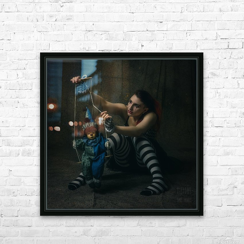Marie-Jo II HD Sublimation Metal print with Decorating Float Frame (BOX)