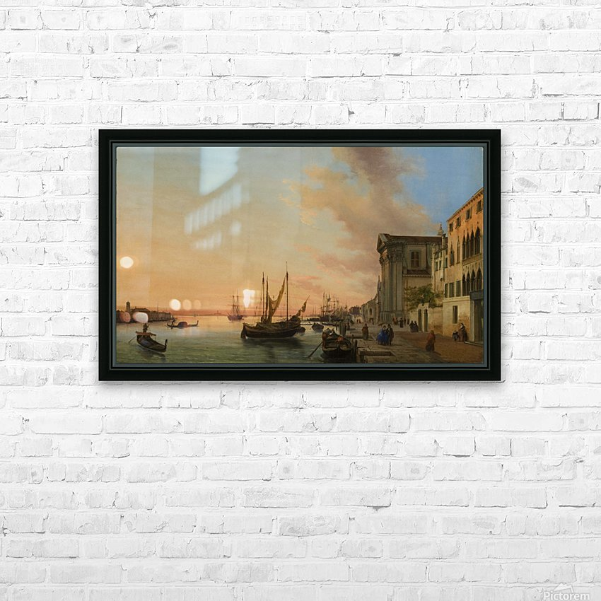 Venice Bay HD Sublimation Metal print with Decorating Float Frame (BOX)