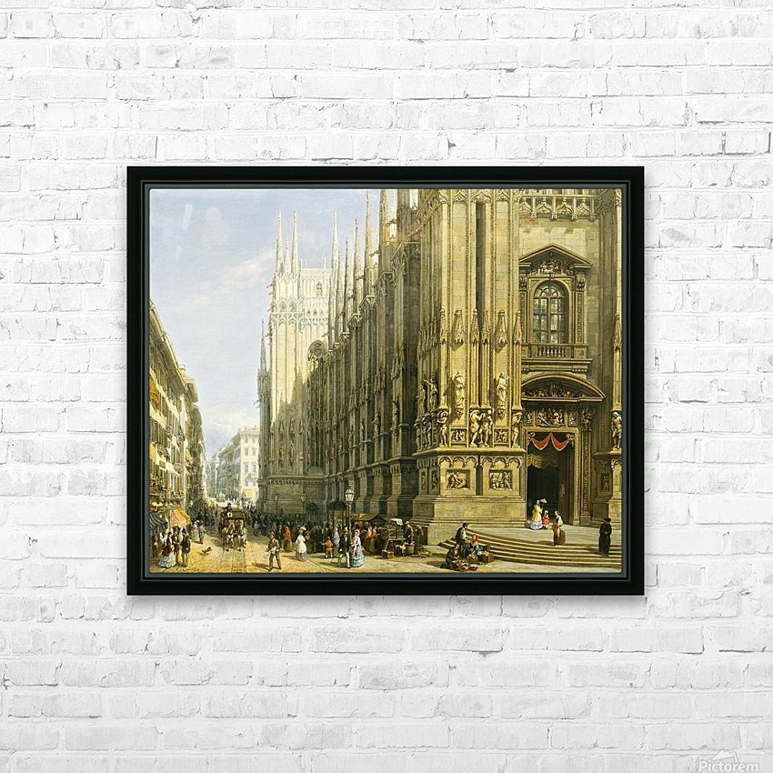 Il Duomo di Milano HD Sublimation Metal print with Decorating Float Frame (BOX)