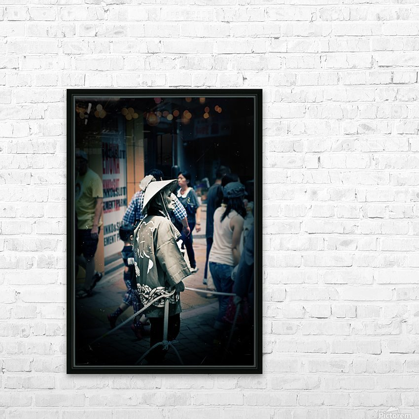 Past Meets Present HD Sublimation Metal print with Decorating Float Frame (BOX)