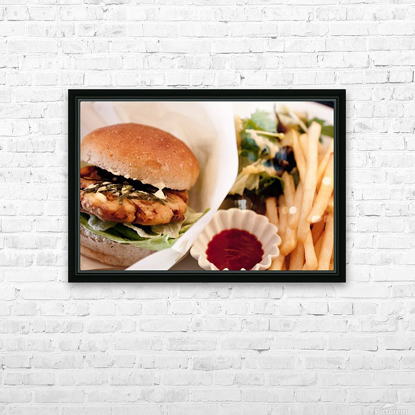 Its Vegan HD Sublimation Metal print with Decorating Float Frame (BOX)