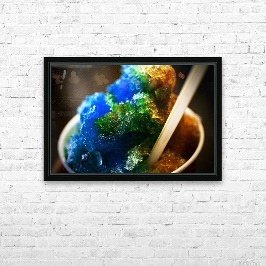 Kakigori HD Sublimation Metal print with Decorating Float Frame (BOX)