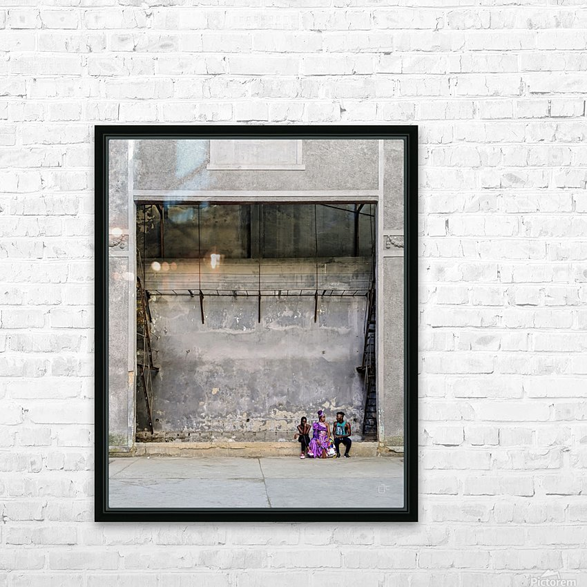 Cuban dancers on a brake HD Sublimation Metal print with Decorating Float Frame (BOX)