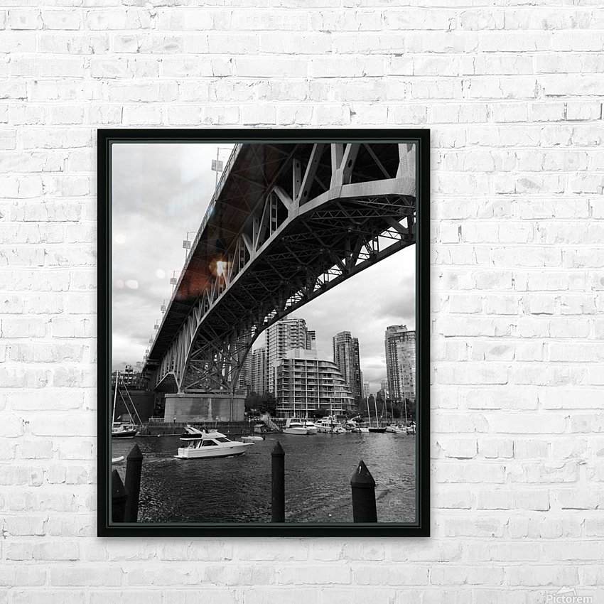 Bridge HD Sublimation Metal print with Decorating Float Frame (BOX)