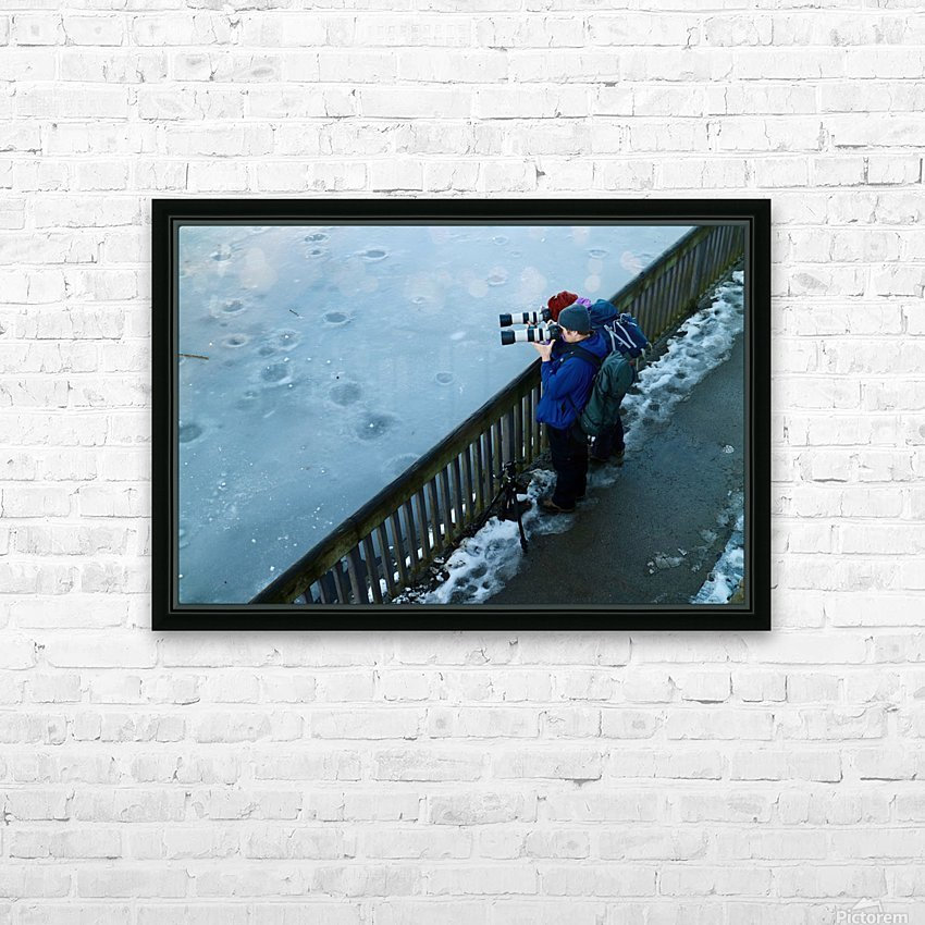 Photographers HD Sublimation Metal print with Decorating Float Frame (BOX)