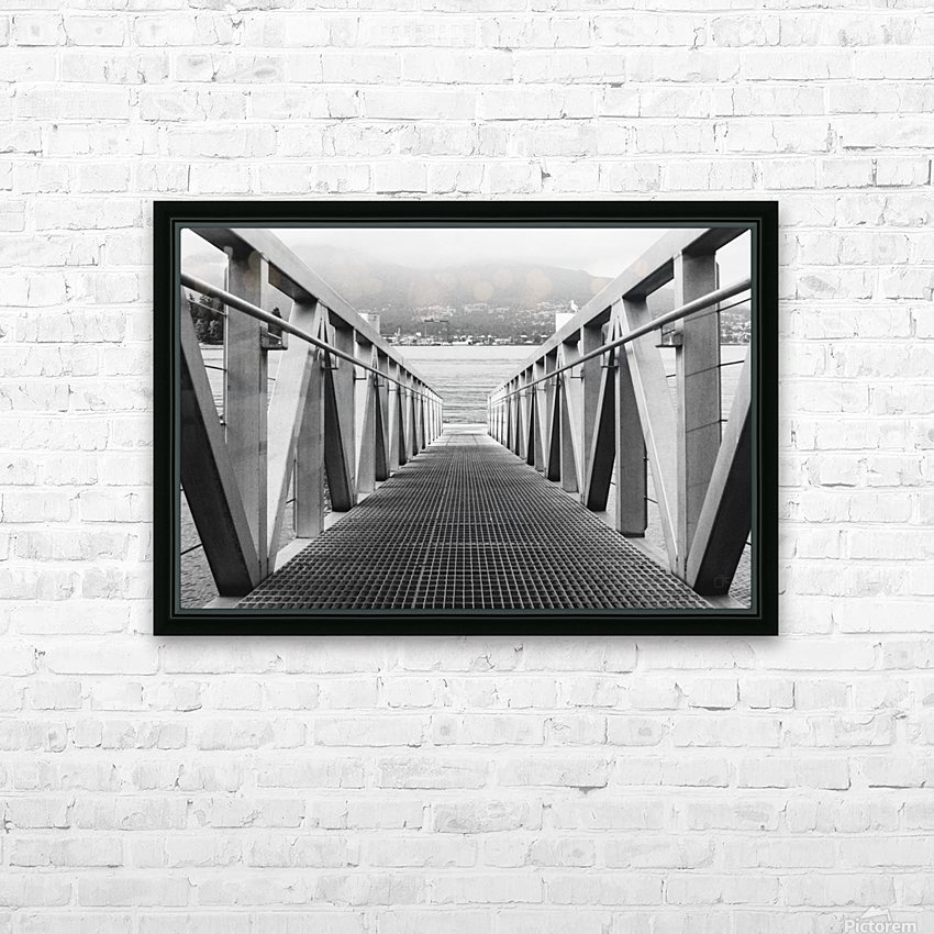Deck HD Sublimation Metal print with Decorating Float Frame (BOX)