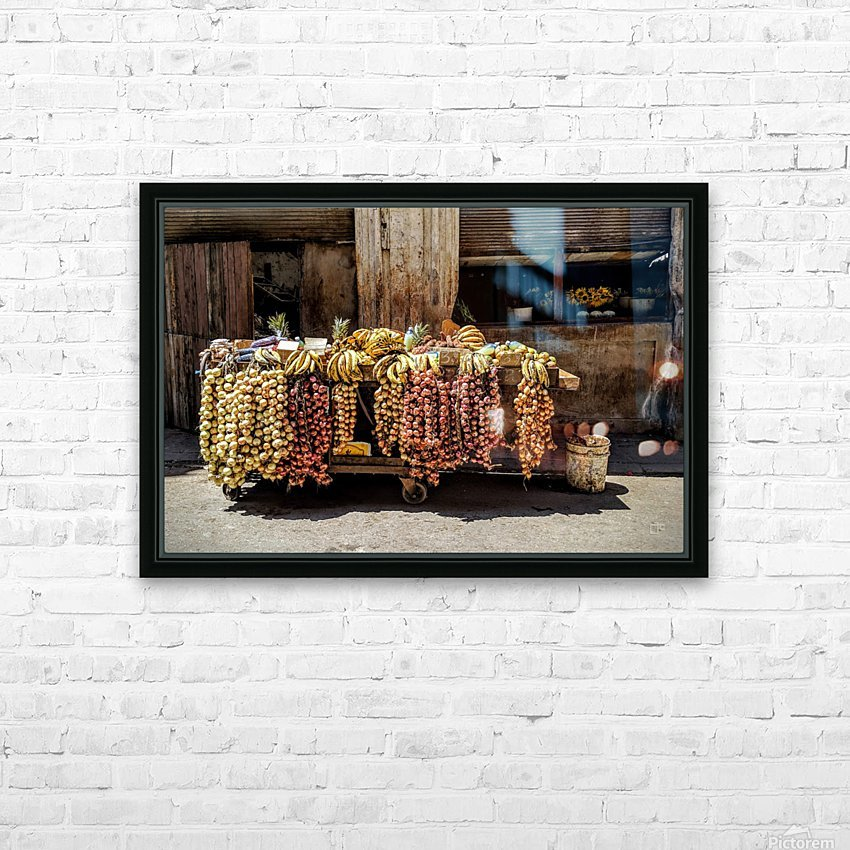 Fruits HD Sublimation Metal print with Decorating Float Frame (BOX)