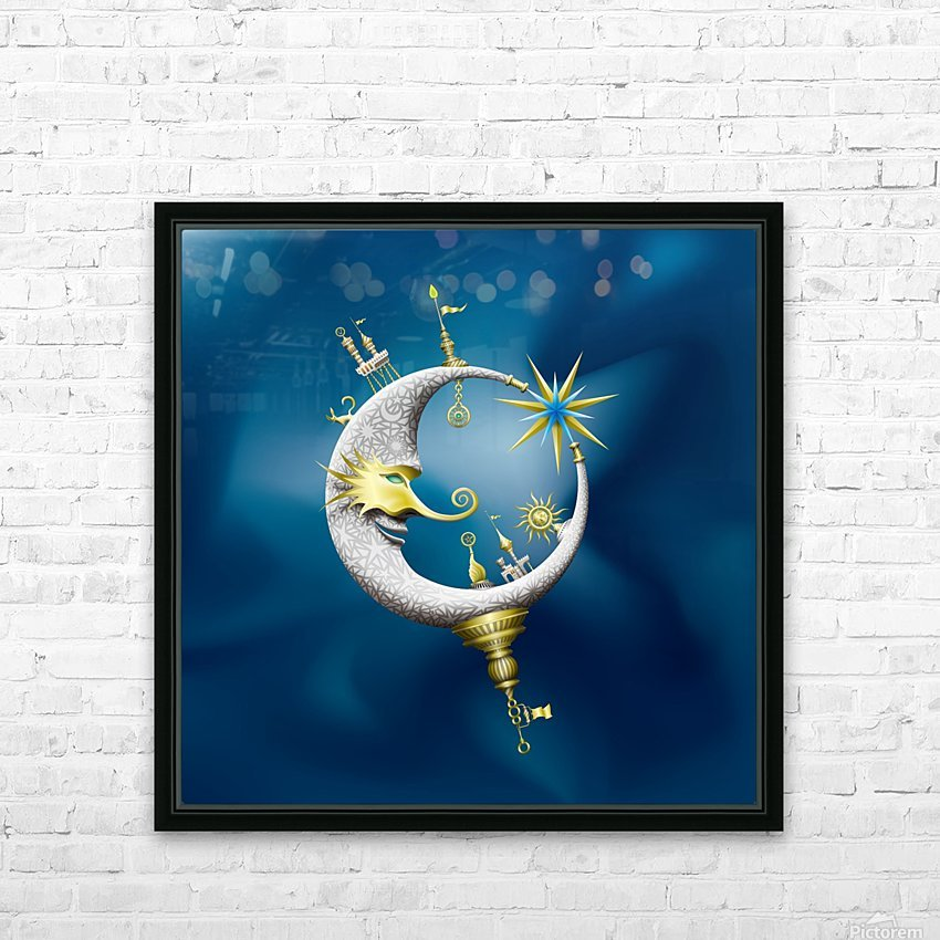Marcelluna Metalli HD Sublimation Metal print with Decorating Float Frame (BOX)