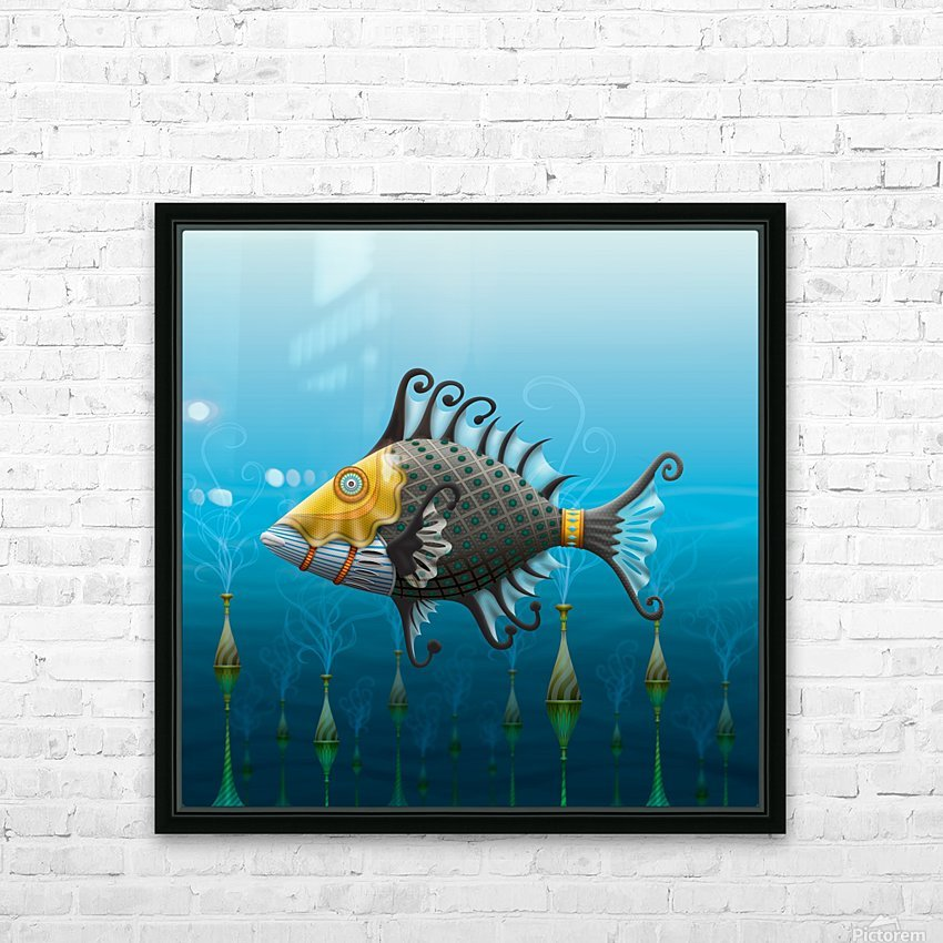 Ballistini Imperiale HD Sublimation Metal print with Decorating Float Frame (BOX)