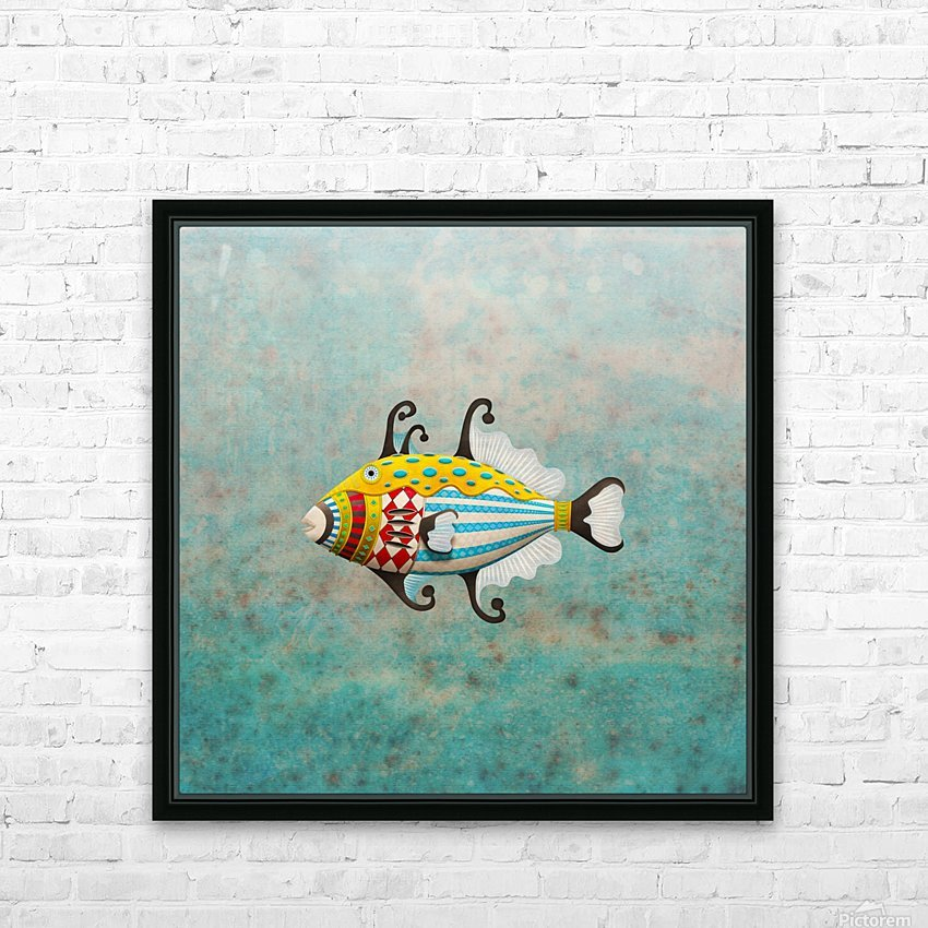 Ballistini Arlecchinus HD Sublimation Metal print with Decorating Float Frame (BOX)