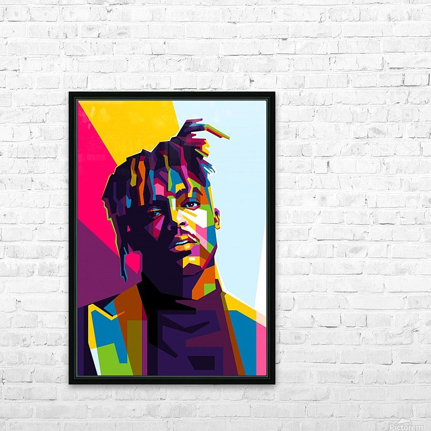 Juice Wrld HD Sublimation Metal print with Decorating Float Frame (BOX)
