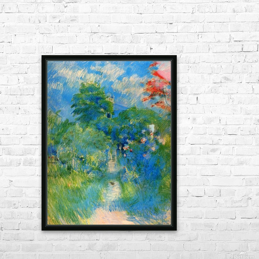 Gardenpath in Mezy by Morisot HD Sublimation Metal print with Decorating Float Frame (BOX)