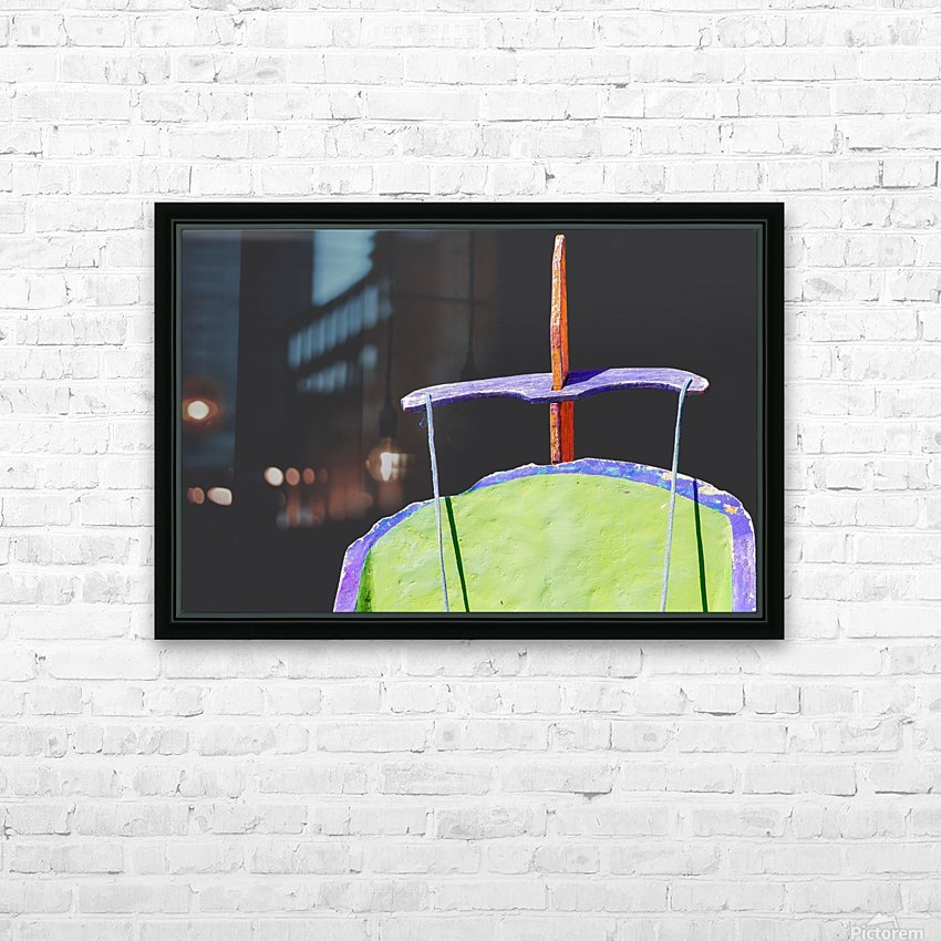 Boat XIX HD Sublimation Metal print with Decorating Float Frame (BOX)