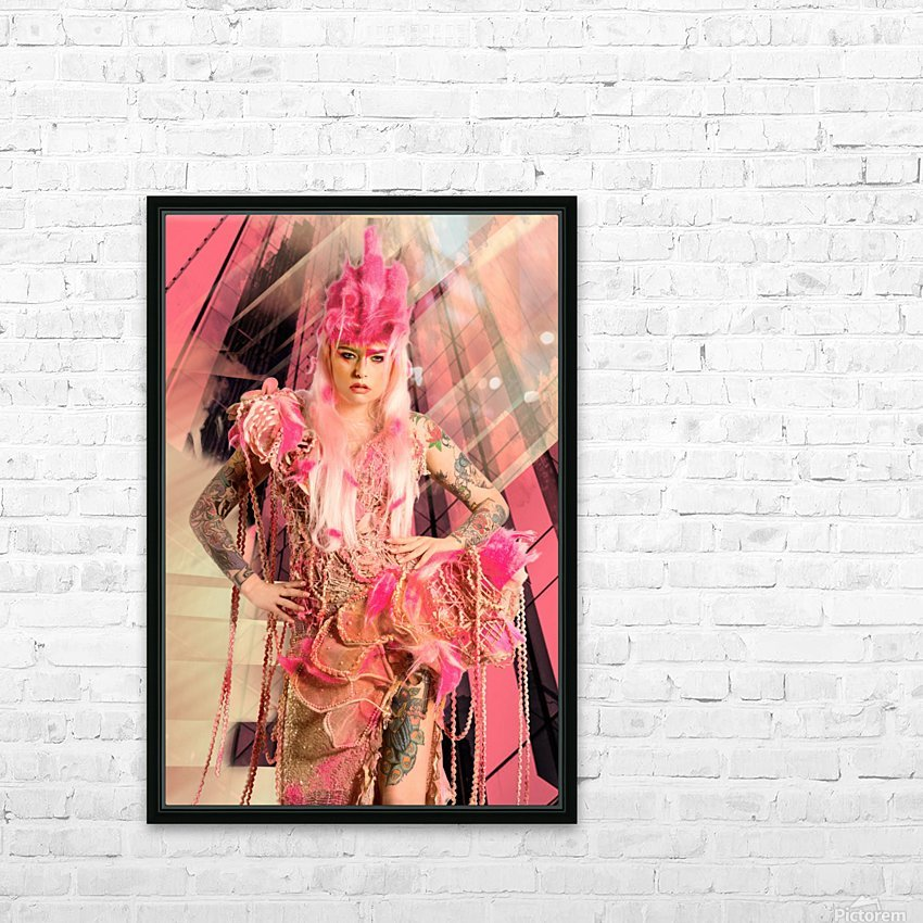 Avalon HD Sublimation Metal print with Decorating Float Frame (BOX)