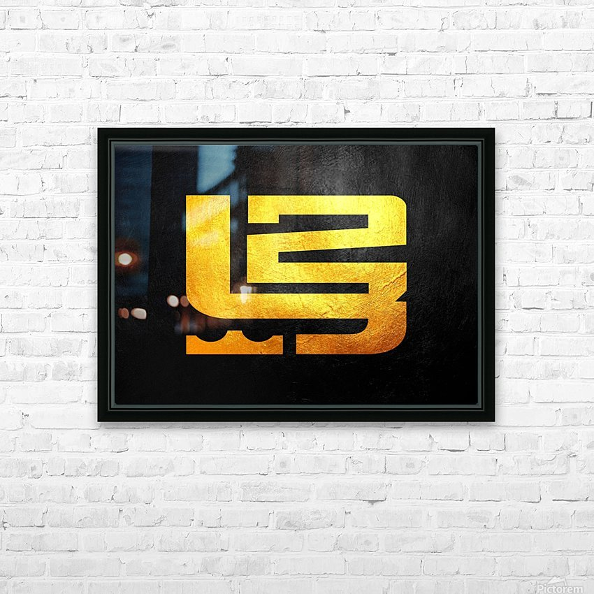 Lebron James HD Sublimation Metal print with Decorating Float Frame (BOX)