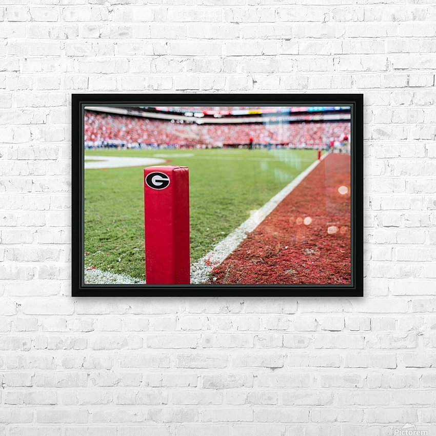 University of Georgia Football   Athens GA 3055 HD Sublimation Metal print with Decorating Float Frame (BOX)