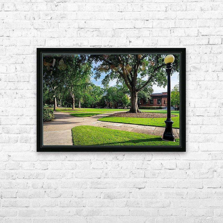 University of Georgia   Athens GA 9568 HD Sublimation Metal print with Decorating Float Frame (BOX)