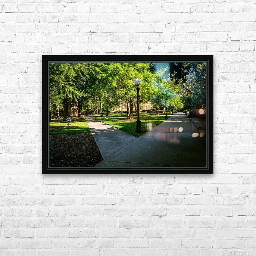 University of Georgia   Athens GA 06331 HD Sublimation Metal print with Decorating Float Frame (BOX)