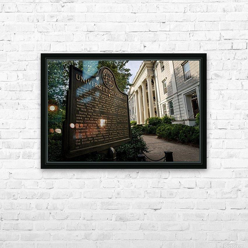 University of Georgia   Athens GA 9313 HD Sublimation Metal print with Decorating Float Frame (BOX)