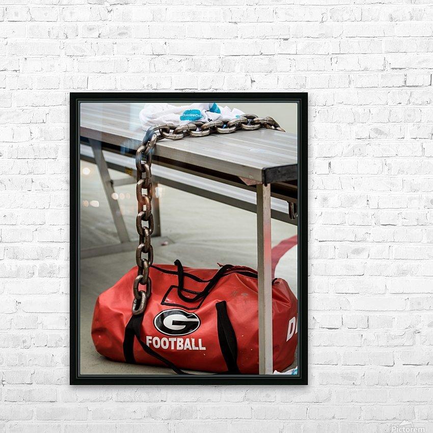 University of Georgia Football   Athens GA 3674 HD Sublimation Metal print with Decorating Float Frame (BOX)