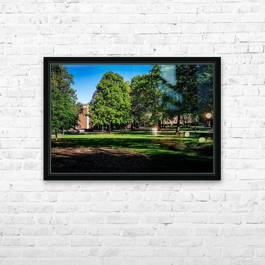 University of Georgia   Athens GA 06328 HD Sublimation Metal print with Decorating Float Frame (BOX)