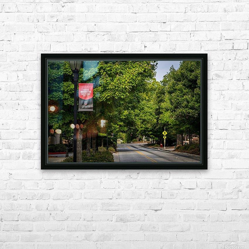 University of Georgia   Athens GA 9434 HD Sublimation Metal print with Decorating Float Frame (BOX)