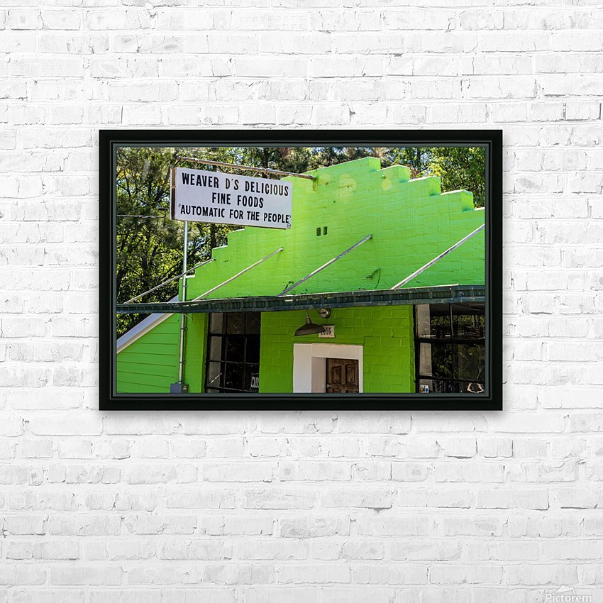 Weaver Ds   Athens GA 06477 HD Sublimation Metal print with Decorating Float Frame (BOX)