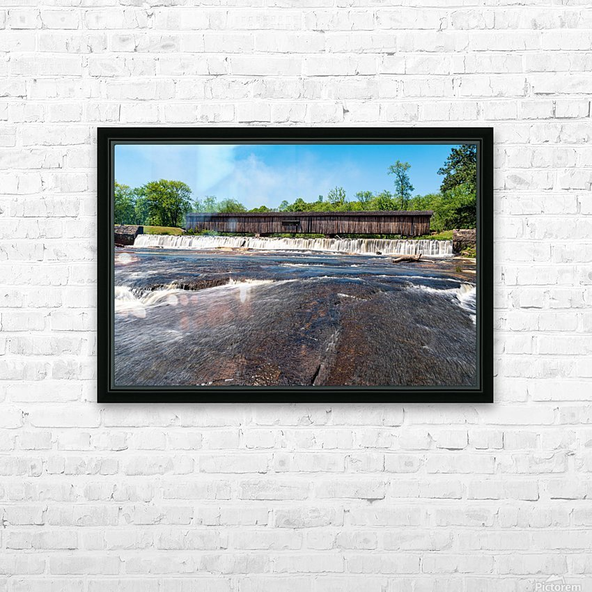 Watson Mill Bridge State Park   Comer GA 06860 HD Sublimation Metal print with Decorating Float Frame (BOX)
