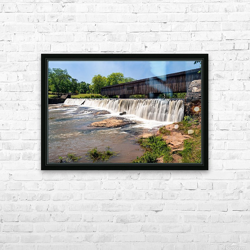 Watson Mill Bridge State Park   Comer GA 06914 HD Sublimation Metal print with Decorating Float Frame (BOX)