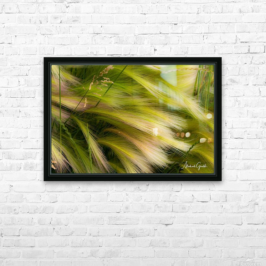 Grasses Of Summer HD Sublimation Metal print with Decorating Float Frame (BOX)