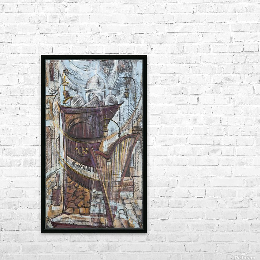 From the series of: Cities of the World HD Sublimation Metal print with Decorating Float Frame (BOX)